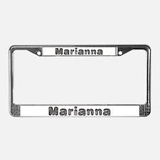 Marianna Wolf License Plate Frame