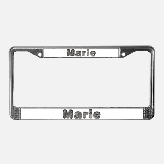 Marie Wolf License Plate Frame