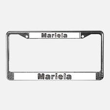 Mariela Wolf License Plate Frame