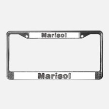 Marisol Wolf License Plate Frame
