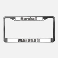 Marshall Wolf License Plate Frame
