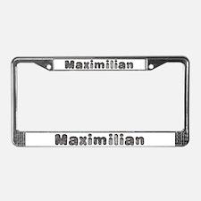 Maximilian Wolf License Plate Frame