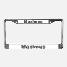 Maximus Wolf License Plate Frame