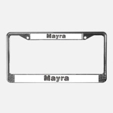Mayra Wolf License Plate Frame