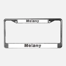 Melany Wolf License Plate Frame
