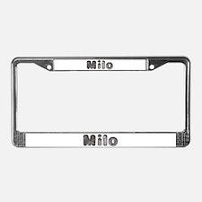 Milo Wolf License Plate Frame