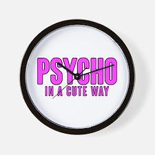 Psycho Cutie Wall Clock