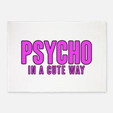 Psycho Cutie 5'x7'Area Rug