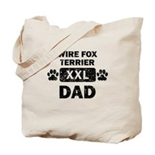 Wire Fox Terrier Dad Tote Bag