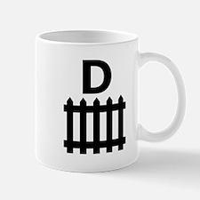 D Picket Fence Mugs