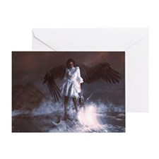 The Last Angel Greeting Cards