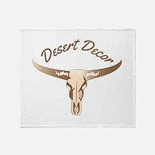 Desert Decor Throw Blanket