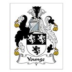 Younge Family Crest Small Poster