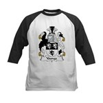 Younge Family Crest  Kids Baseball Jersey