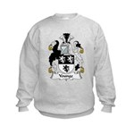Younge Family Crest Kids Sweatshirt
