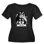 Younge Family Crest Women's Plus Size Scoop Neck