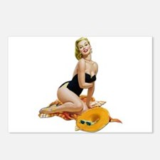 Pin-Up 001 Postcards (Package of 8)
