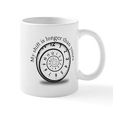 Spiral Clock Mugs