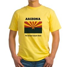Arizona flag and slogan T