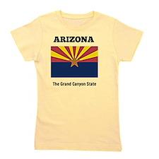 Arizona flag and slogan Girl's Tee
