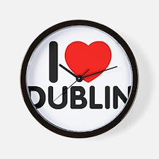 I love Dublin Wall Clock