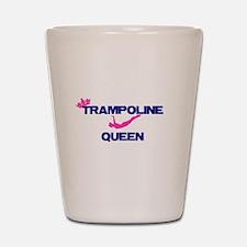 Trampoline Queen Shot Glass