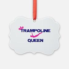 Trampoline Queen Ornament