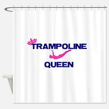 Trampoline Queen Shower Curtain