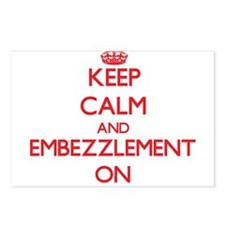 EMBEZZLEMENT Postcards (Package of 8)