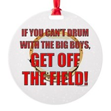 Drum With the Big Boys Ornament