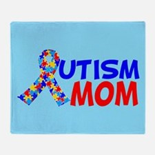 Autism Mom Throw Blanket