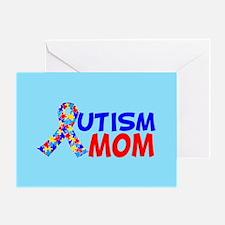 Autism Mom Greeting Card