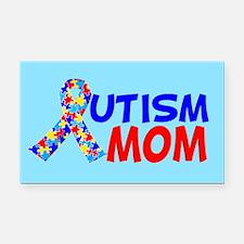 Autism Mom Rectangle Car Magnet