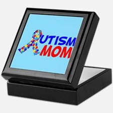 Autism Mom Keepsake Box