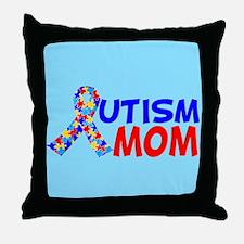 Autism Mom Throw Pillow