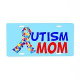 Autism awareness License Plates