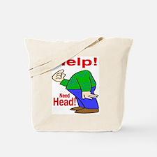 Need Head Tote Bag