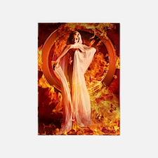 Goddess of Fire 5'x7'Area Rug