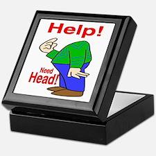 Need Head Keepsake Box