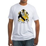Yeaton Family Crest Fitted T-Shirt