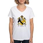 Yeaton Family Crest Women's V-Neck T-Shirt