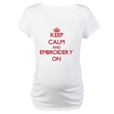Funny Keep calm and crochet Shirt