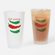 Hot Mama Drinking Glass
