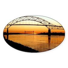 Cape Cod Bourne Bridge Decal