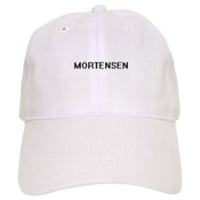 Mortensen digital retro design Baseball Cap