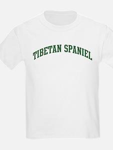 Tibetan Spaniel (green) T-Shirt
