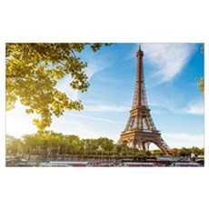 Eiffel Tower Canvas Art