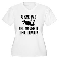 Skydive Ground Limit Plus Size T-Shirt