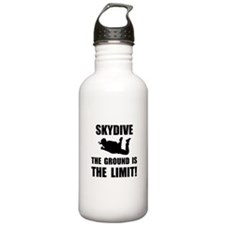 Skydive Ground Limit Sports Water Bottle