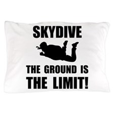 Skydive Ground Limit Pillow Case